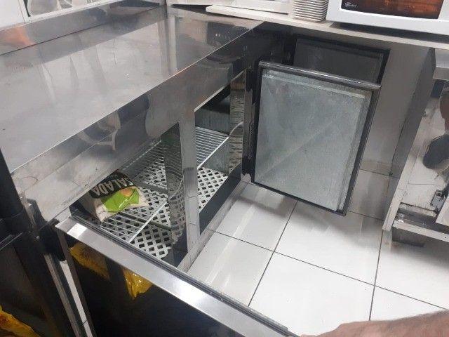 Condimentadora Balcão Refrigerado Semi Novo - Foto 4