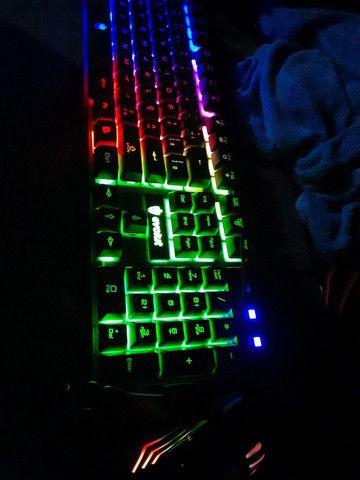 Kit teclado gamer / mobilador