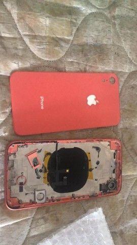 Vidro traseiro do iPhone XR orange  - Foto 2