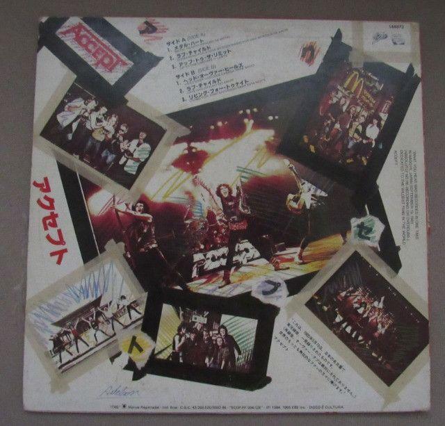 Oferta!! Lp Vinil Accept- Kaizoku Ban-1985 - Foto 2