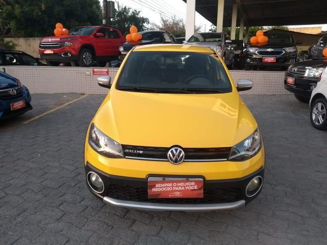 Volkswagen 2015 gol 1.6 rallye amarelo g6 completo 2015