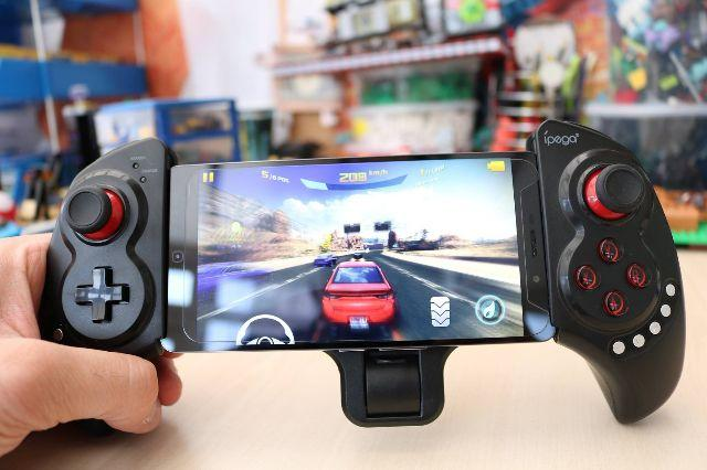 Controle Joystick Bluetooth Ipega Gamepad Ipad Celular 9023