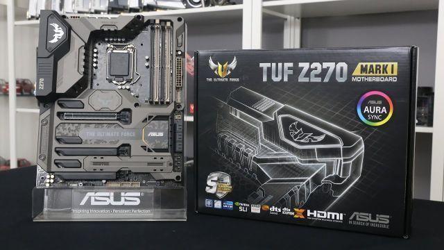 I7 6700K + 16GB 3200Mhz G.Skill + Z270 Tuk Mark 1 + Hyper 212x
