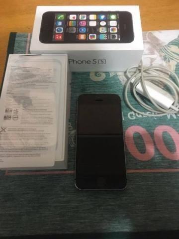 Iphone 5s Space Gray 16 Gb Desbloqueado Anatel 4g impecável