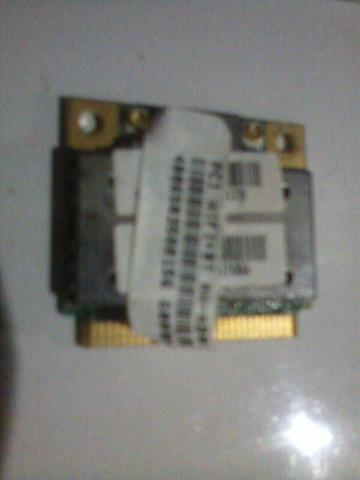 Placa Wifi e Bt Notebook