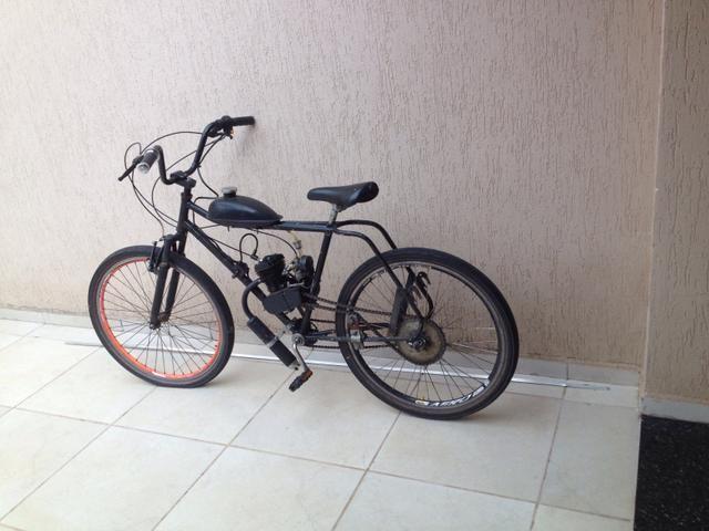 Bicicleta motor gasolina $700,00