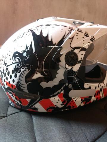 Lindo capacete Cross Helt tamanho 58