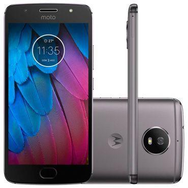 Moto g 5s dual chip android 7.1.lacrados tela 5.2