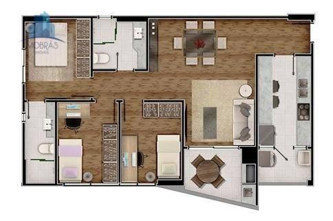 Apartamento residencial à venda, Alto da Rua XV, Curitiba. - Foto 8