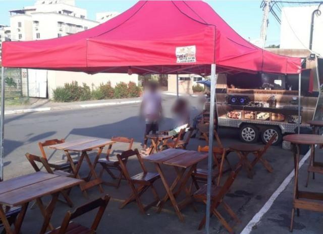 Trailer de comida. Food truck