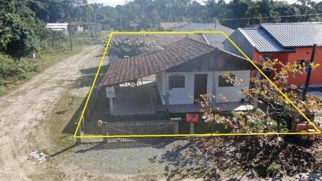 Boa casa de alvenaria em itapoá, aproximadamente 1.100 metros da praia, total de 108 m2 co - Foto 5