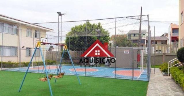 Apartamento com 3 dormitórios à venda, 54 m² por r$ 210.000,00 - capão raso - curitiba/pr - Foto 13