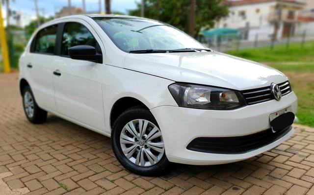 Aceita Troca VW Gol G6 1.0 Flex Baixo Km - Foto 4