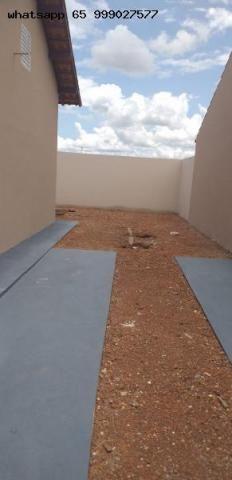 Casa para Venda em Várzea Grande, Novo Mundo, 2 dormitórios, 1 banheiro, 2 vagas - Foto 3