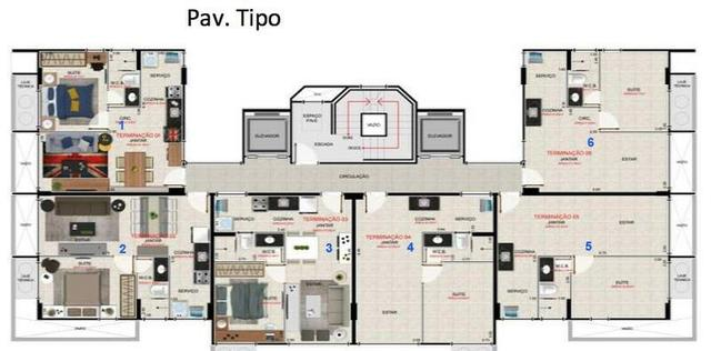 Apartamento Quarto e sala em Ponta Verde - Foto 3