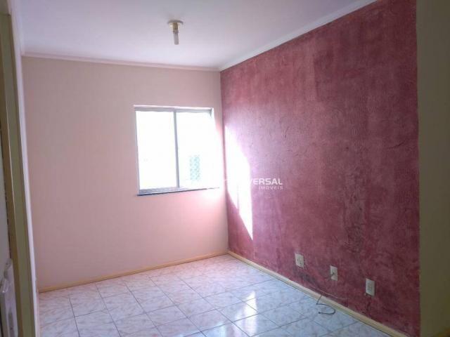 Apartamento com 2 dormitórios para alugar, 55 m² por r$ 700/mês - bandeirantes - juiz de f - Foto 2