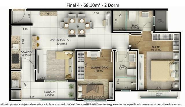 Cobertura duplex 3 quartos no Água Verde - Foto 12