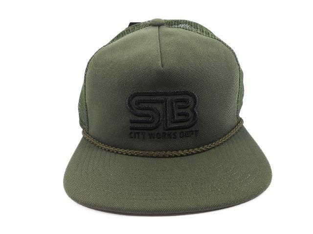 Boné Aba Reta Nike Sb City Works Trucker Green - Bijouterias ... 0b66376a68f