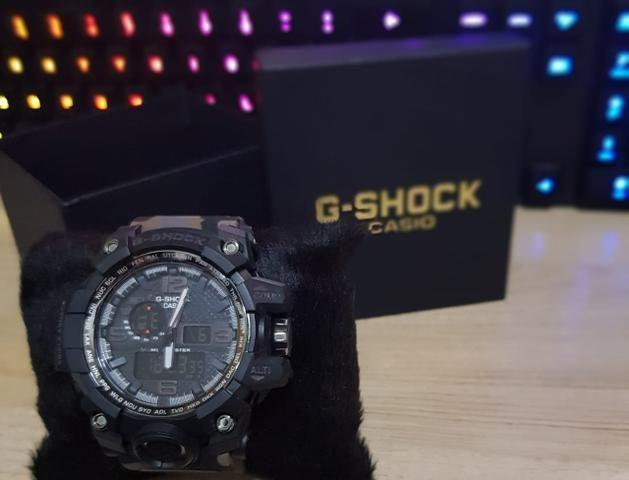 46f47fb6676 Relógio G-Shock Mudmaster Camuflado NOVO na Caixa GShock ...