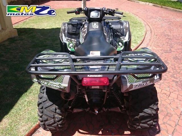 Kawasaki Brute Force 750 2012 Prata com 300 horas - Foto 5