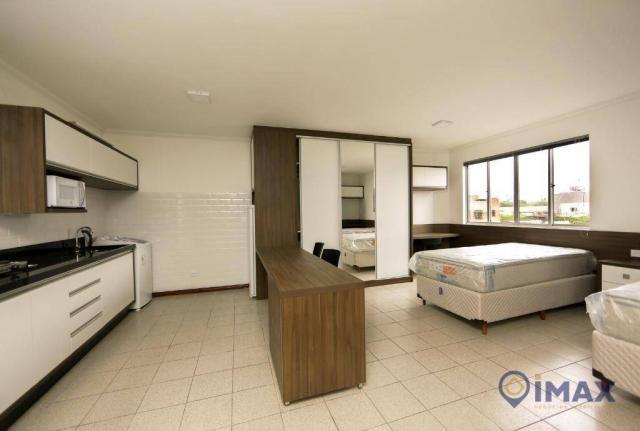 Apartamento com 1 dormitório para alugar, 45 m² por R$ 1.500,00/mês - Centro - Foz do Igua - Foto 12