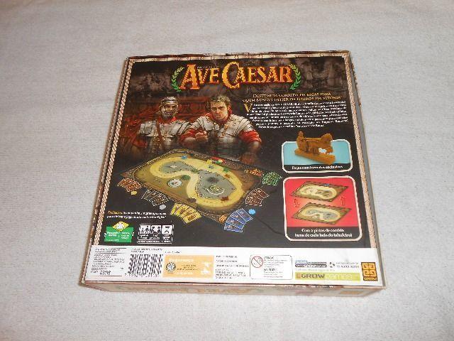 Jogo de Tabuleiro Ave Caesar - Grow - Com miniaturas de bigas - Foto 6