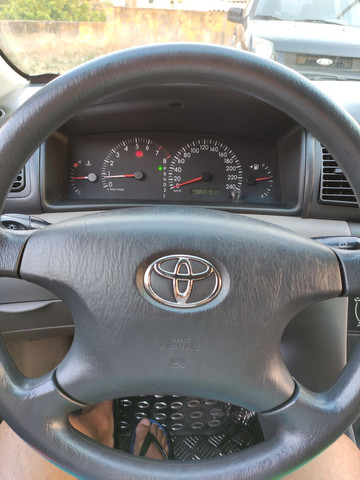 Corolla XEI 2008 azul flex automático completo - Foto 8