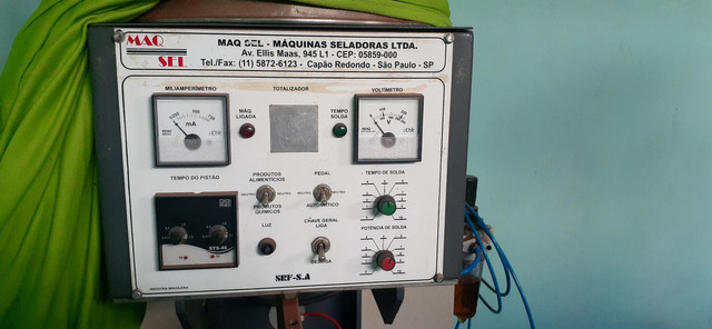 máquina de selar melzinho zap *