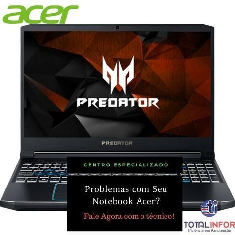 Assistência Técnica Notebook - Tela - Bateria - Carregador - Teclado - Foto 5