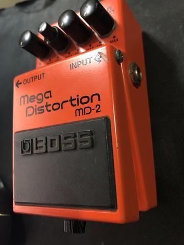 Pedal Boss Mega Distorcion MD-2 - Foto 2