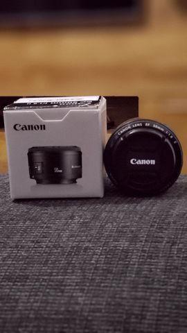 Lente Canon 50mm 1.8 - Foto 6