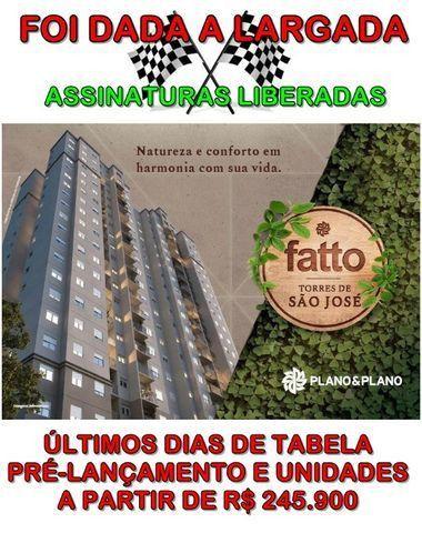 RS245.900,00 - Apartamento Fatto Torres de São José - Jundiaí - Lazer Completo - Na planta - Foto 2