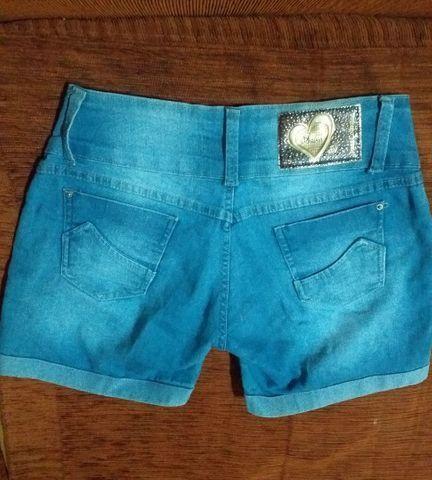 Lindo short jeans Tam 44 - Foto 2