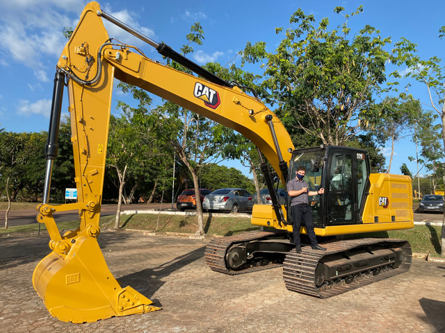 Escavadeira Hidráulica Caterpillar 2020 zera - Foto 5