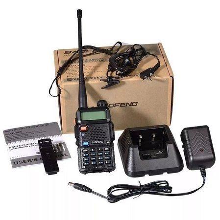 Rádio Baofeng Digital Ht Dual Band Uhf Vhf Uv-5r Ptt - Foto 6