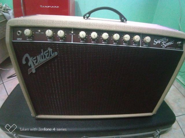 Amplificador fender super Sonic 60 w - Foto 4