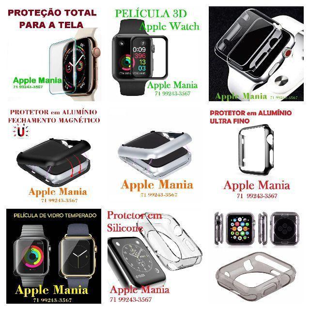 Películas e Protetores para Apple Watch e IWO e Outros Smartwatches***