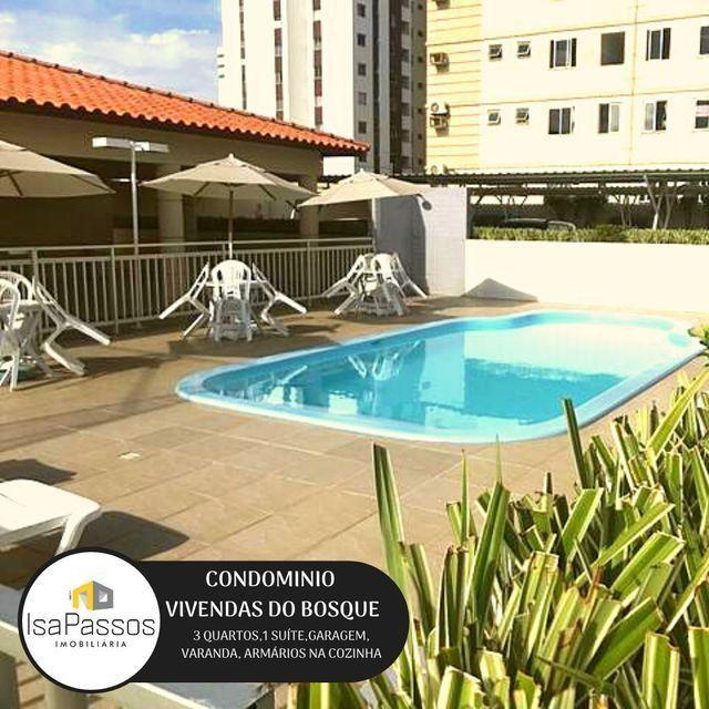 ATENÇÃO!!! VENDO Apartamento no CONDOMÍNIO VIVENDAS DO BOSQUE, - Foto 3
