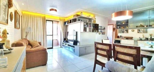 Apartamento à venda no Parque cidade Jardim | 92m 3/4 uma suite | Capim macio