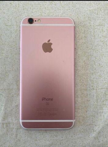 Troco iPhone 6s 64 gb rose gold - Foto 2