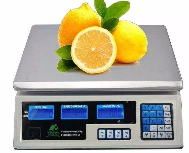 Balança Eletrônica Digital 40kg Alta Precisão C/bateria - Foto 6