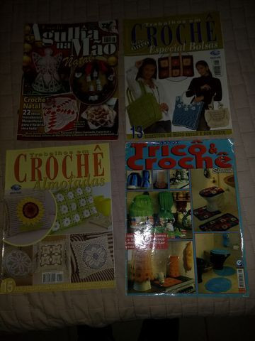Revistas de crochê variadas - Foto 4