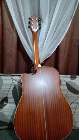 Vendo violão Gianini  eletroacústico em estado de novo  - Foto 2