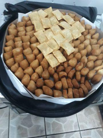 Salgadinhos fritos sortidos,promoção 300 unidades R$100,00 - Foto 2