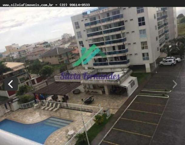 Apartamento para Locação em Rio das Ostras, Recreio, 3 dormitórios, 1 suíte, 2 banheiros,  - Foto 2