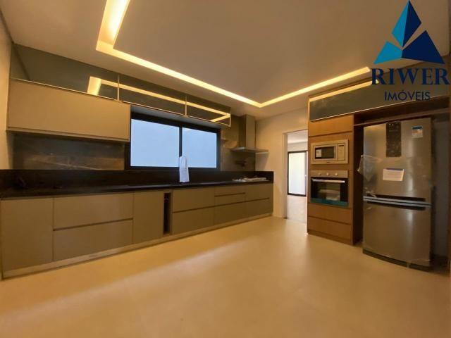 Luxo! Casa perfeita e mobiliada em Vicente Pires! 4 suites, revestimentos e materiais de p - Foto 6