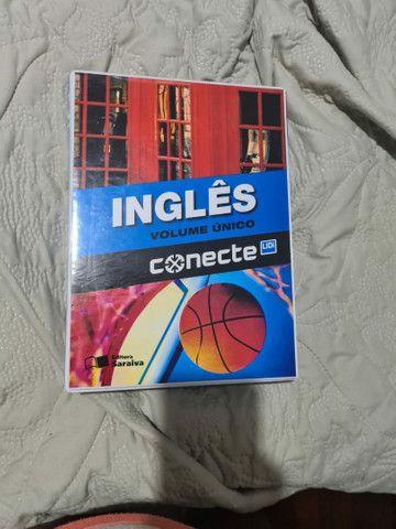 Livro( Box Completo com 5) Inglês  Ensino Médio(1°,2° e 3°ano).