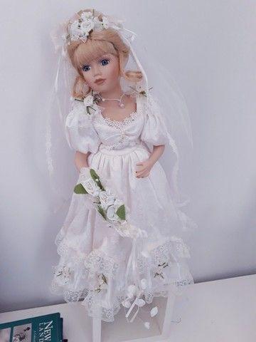 Boneca importada de porcelana - Foto 2