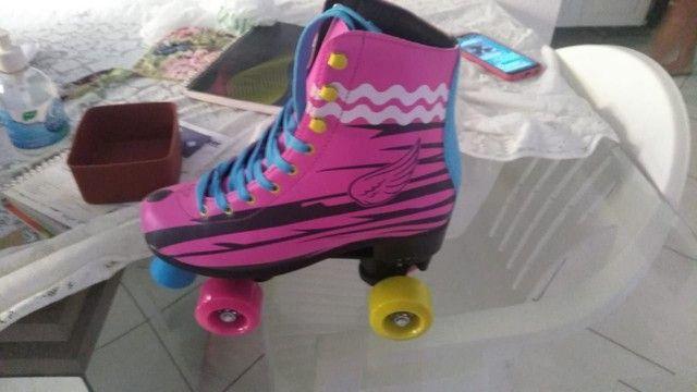 Vendo patins N 37 R$230,00 novo