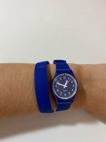 Relógio Suíço Swatch nunca usado duas voltas - Foto 3